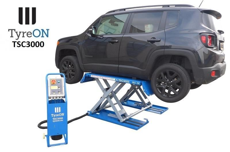 TyreOn TSC3000 Scissor Lift - up to 3000 kg