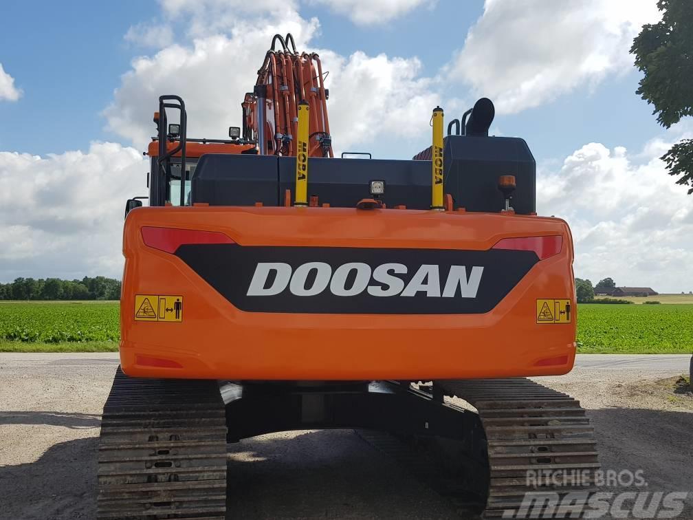 Doosan DX 300 LC-5, Uthyres