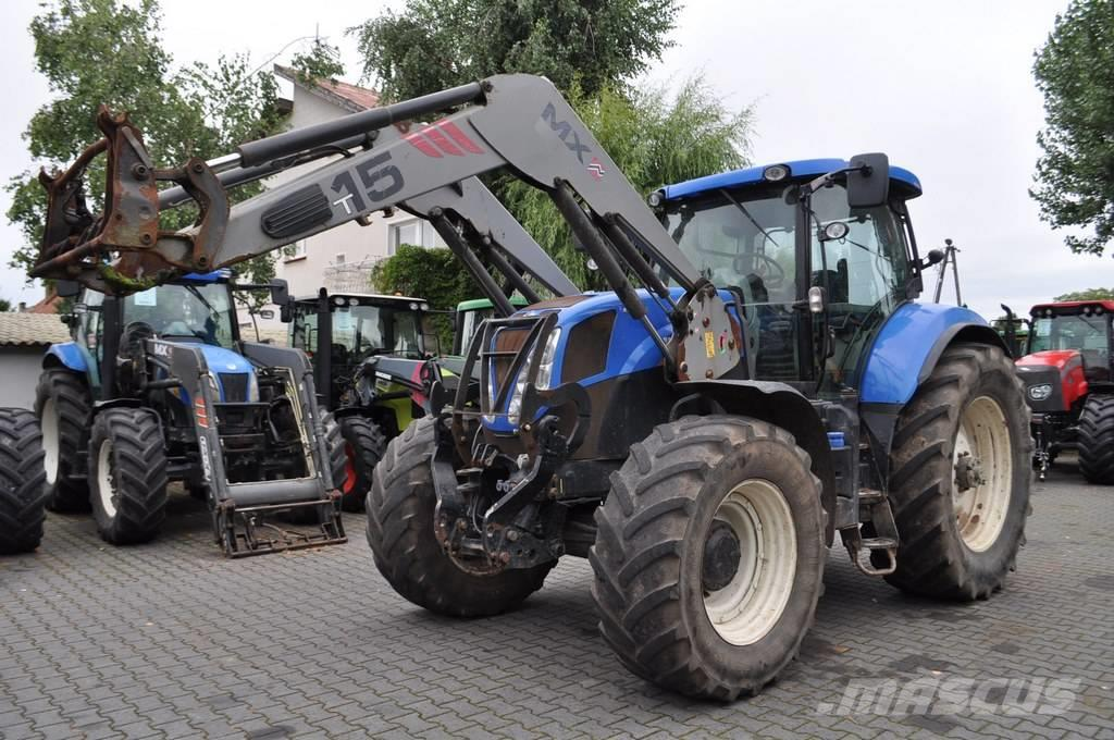 New Holland T7.210 AC + MAILLEUX MX T15