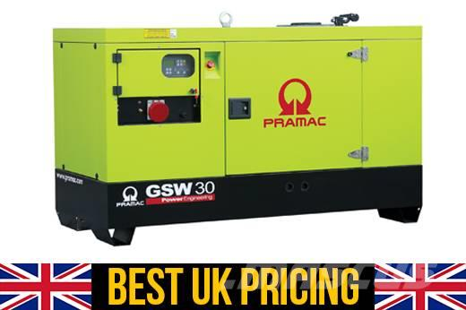 Pramac GSW 20kVA Single Phase Silent Perkins Home Genset