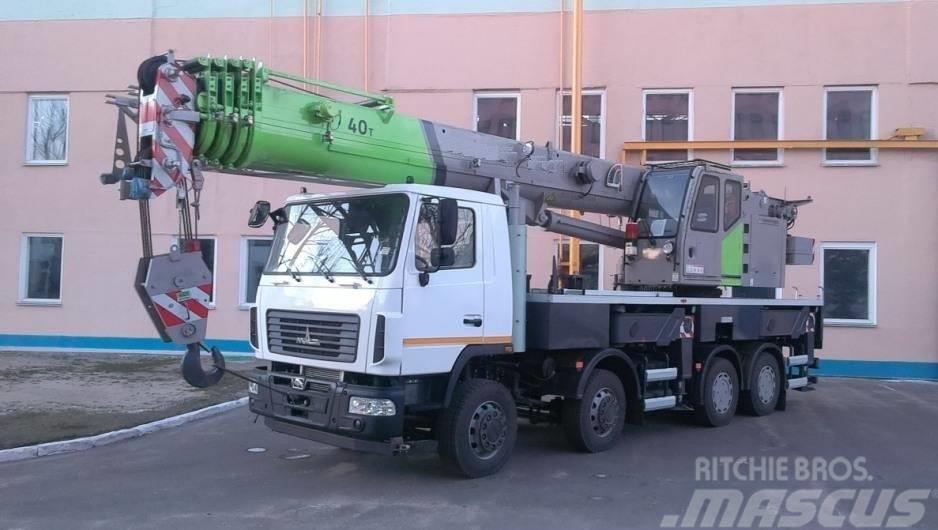 MAZ dźwig żuraw 40 ton