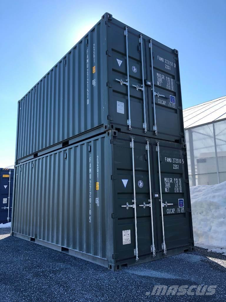[Other] Container 20fot ny mörkgrön