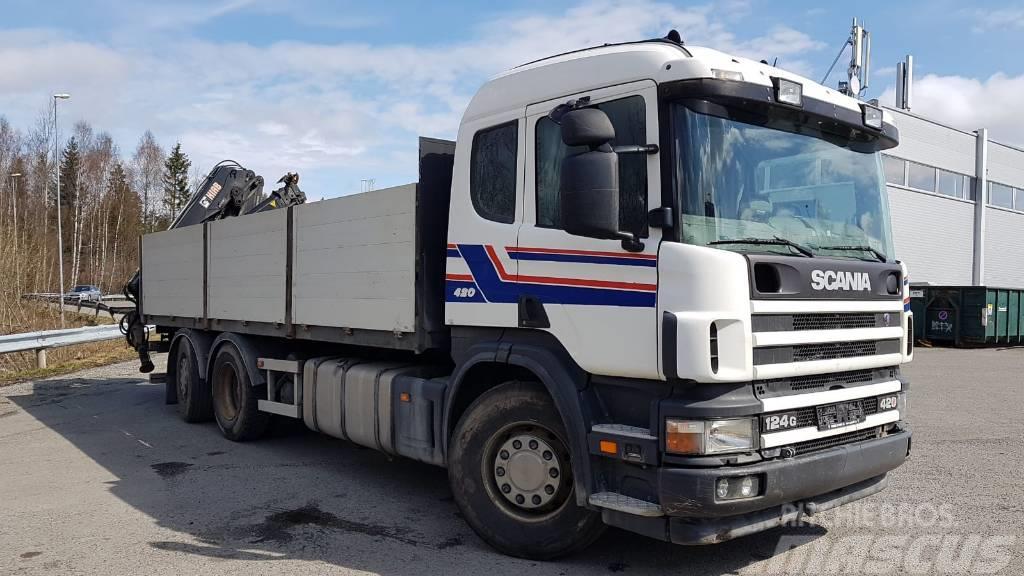 Scania P124GB 6x2*4N