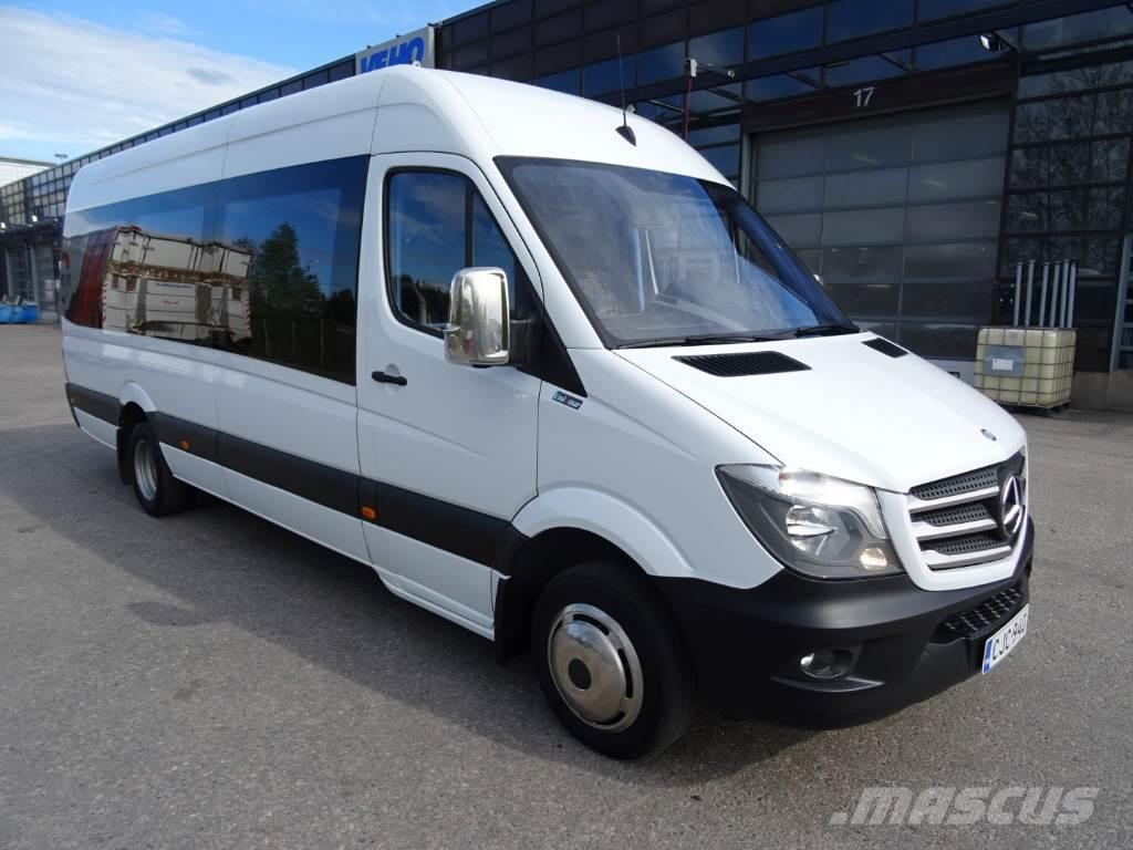 mercedes benz sprinter 516 cdi 19 1 paikkaa preis baujahr 2014 reisebusse. Black Bedroom Furniture Sets. Home Design Ideas