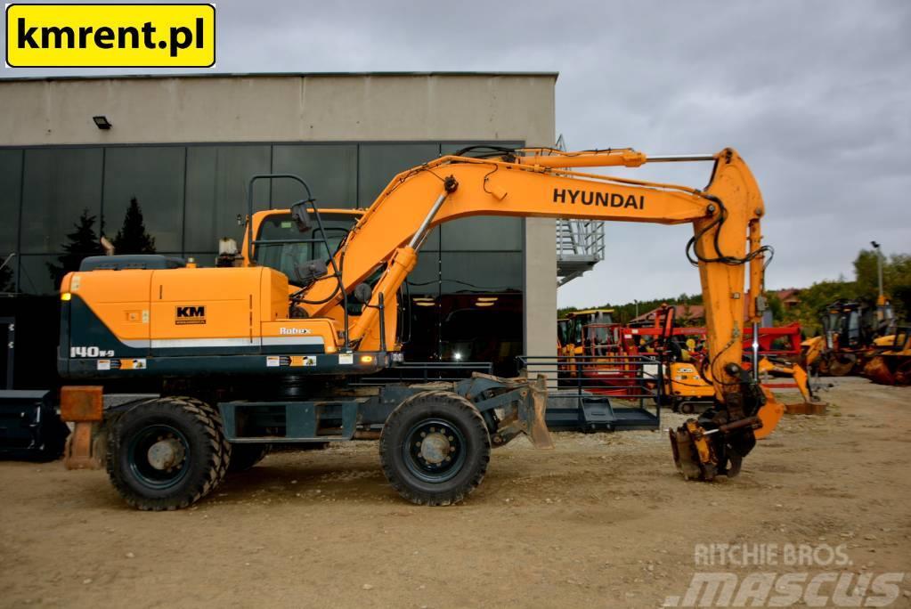 Hyundai ROBEX 140 W-9 VOLVO EW 140 JCB JS 130 145 CAT 313