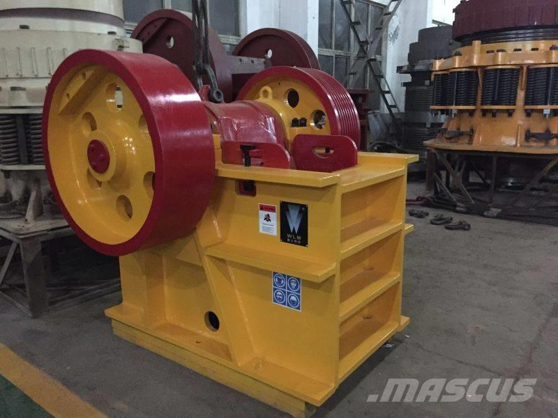 White Lai Shanbao Jaw Crusher with Wear Parts PE-400x600