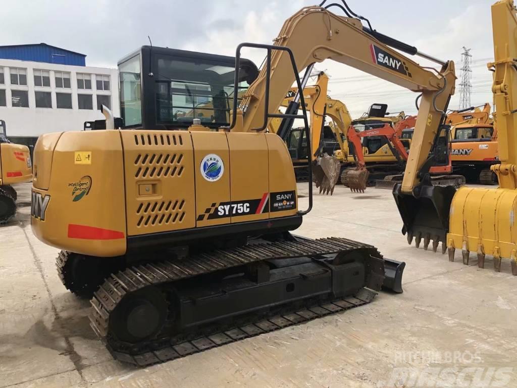 Sany SY75C  SY95C履带式挖掘机