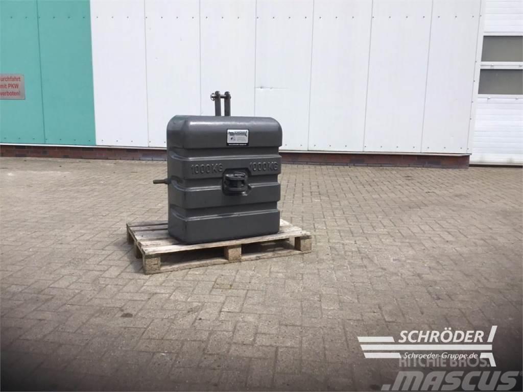 [Other] 1000 KG STAHLBETON