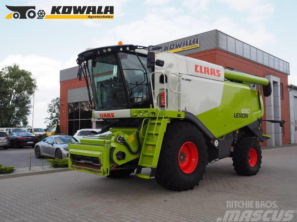 CLAAS Lexion 650 + V680