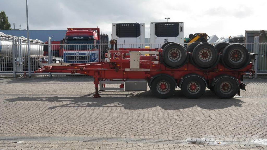 Kässbohrer 3 AXLE CONTAINER TRAILER