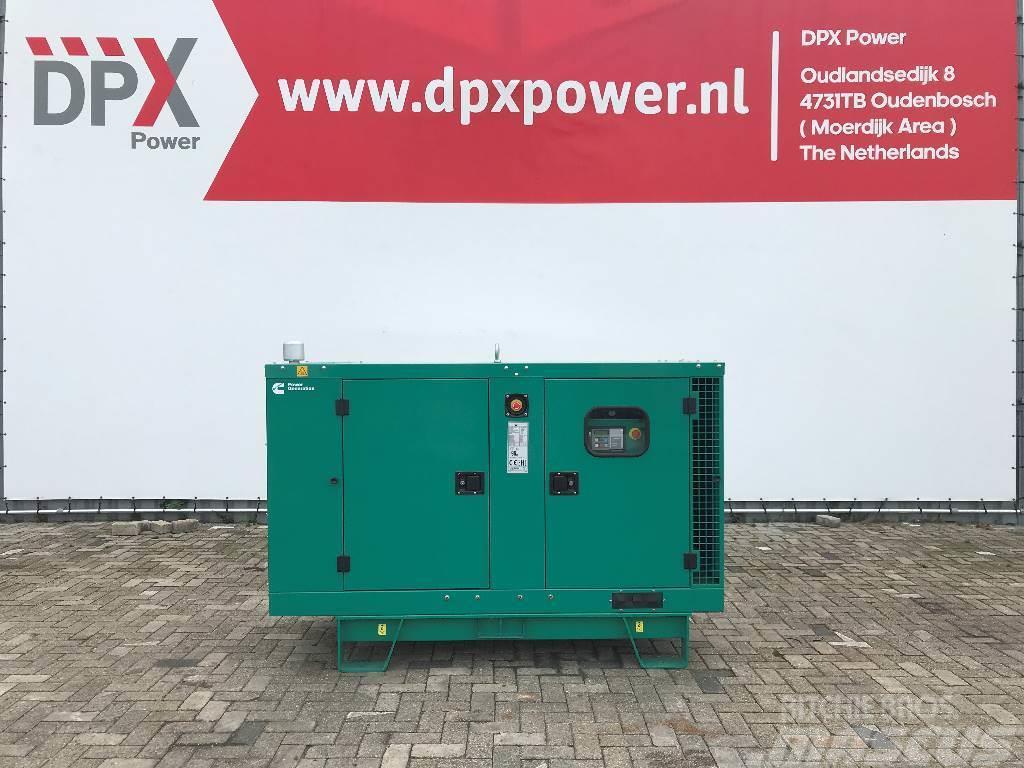Cummins C33D5 - 33 kVA Generator - DPX-18503