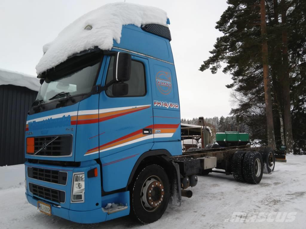 Volvo FH16 6x2 alusta ilmajouset