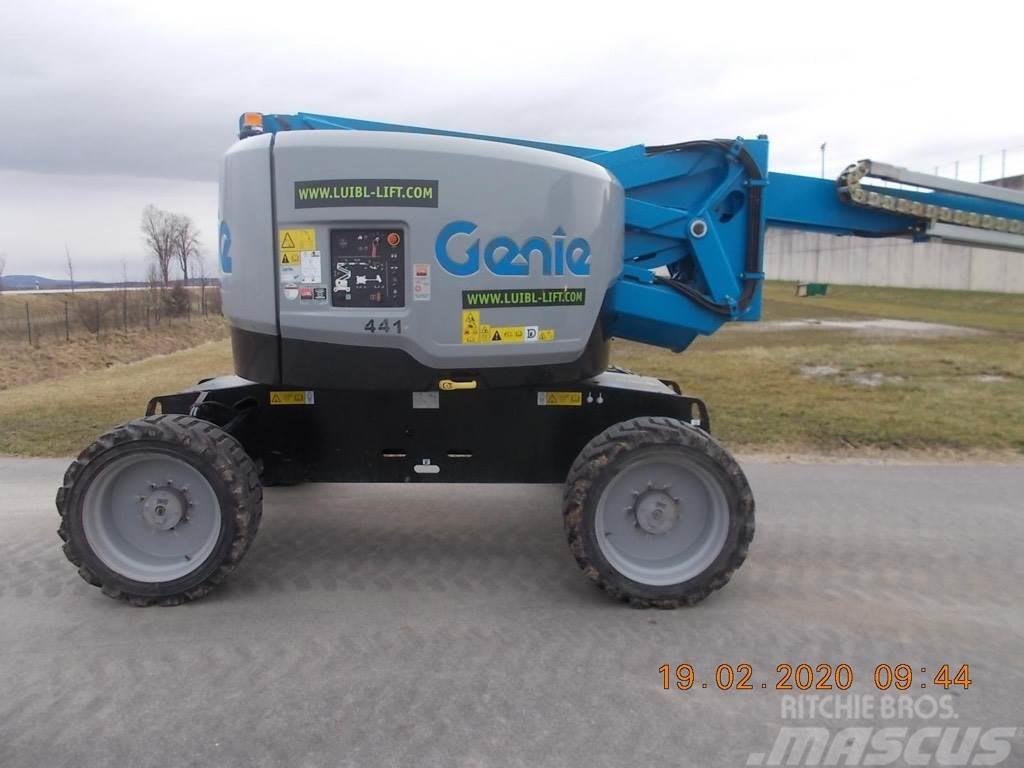 Genie Z62/40J RT, 21m articulating boom lift