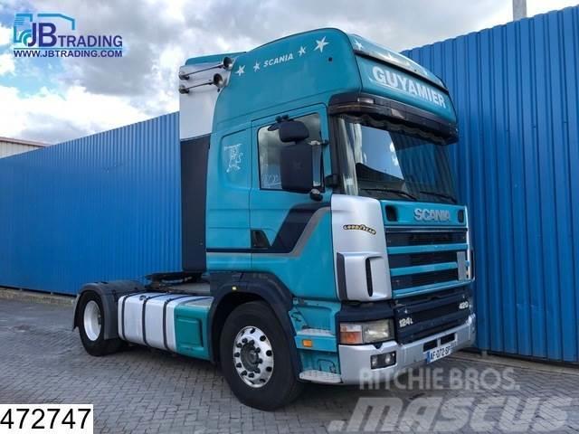 Scania 124 420 Topline, Manual, Retarder, Analoge tachogr