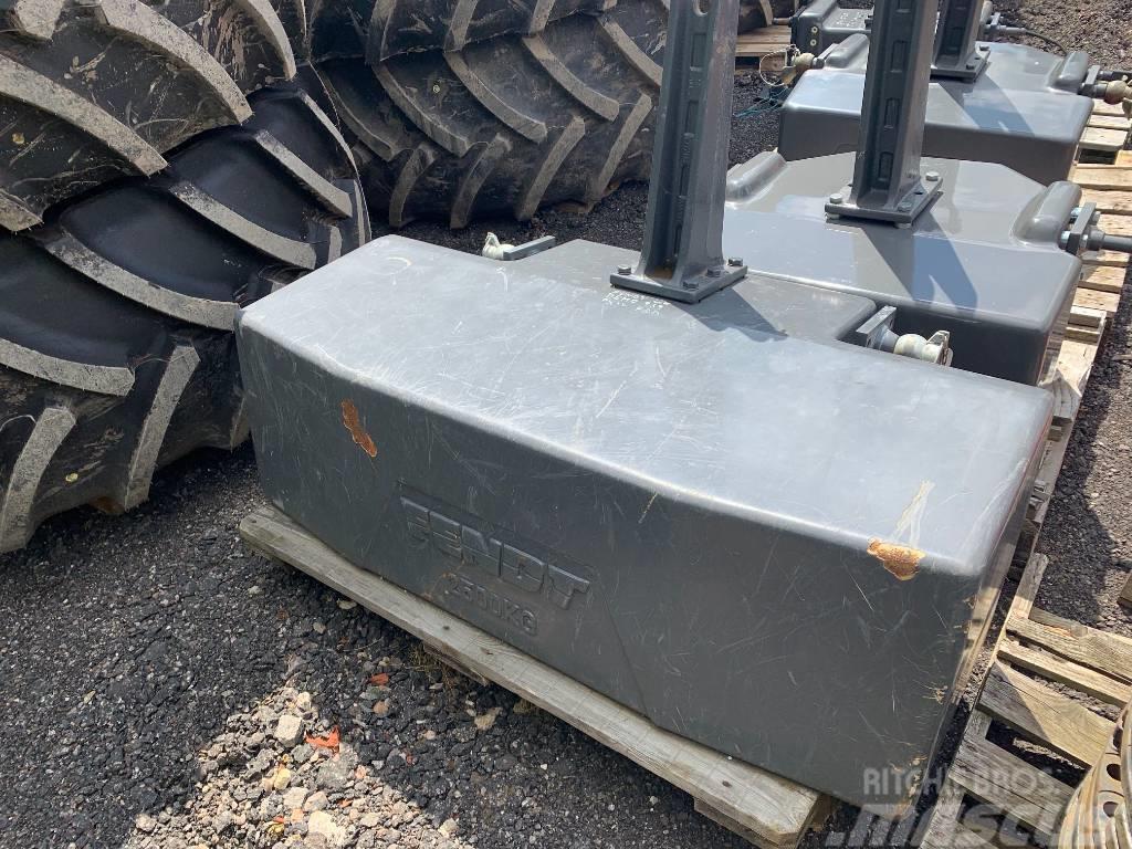 Fendt 2500 kg Front Weight