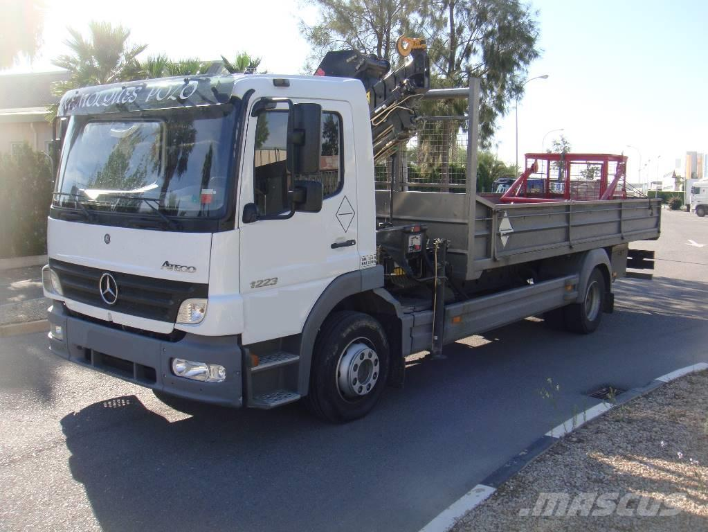 Mercedes benz atego 1223 grua hiab kms for Mercedes benz atego
