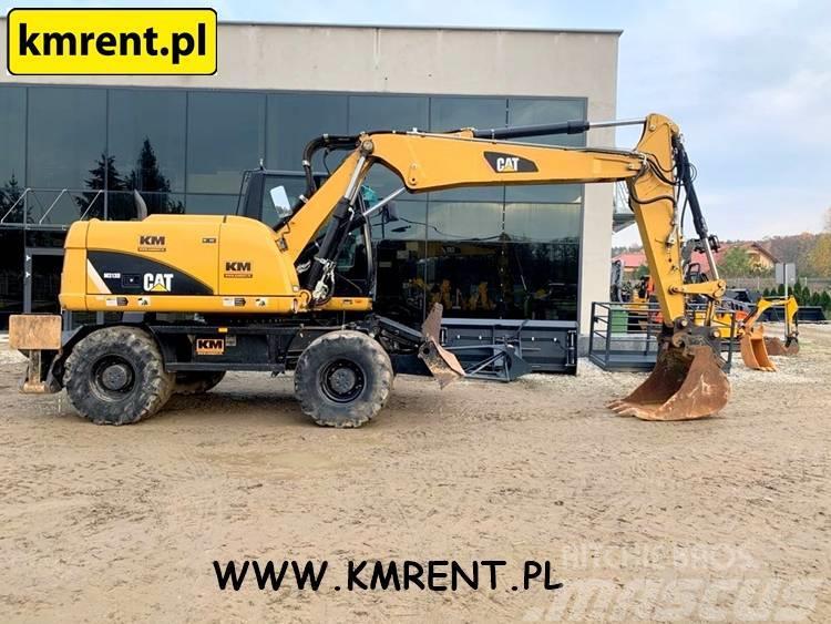 Caterpillar M 313 I M 312 I JCB JS 130 145 LIEBHERR A 314 316