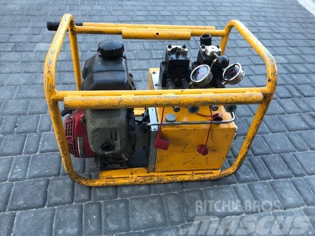 [Other] Naprężacz hydrauliczny do szyn Geismar