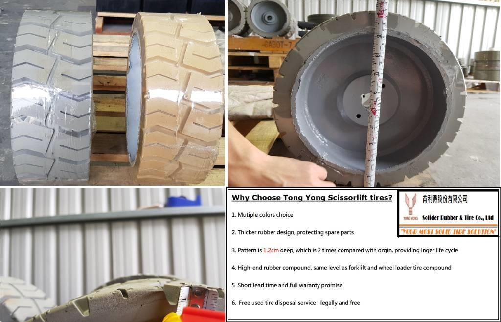 Tong Yong Scissor lift tire 12x4.5 (for Genie 1930)