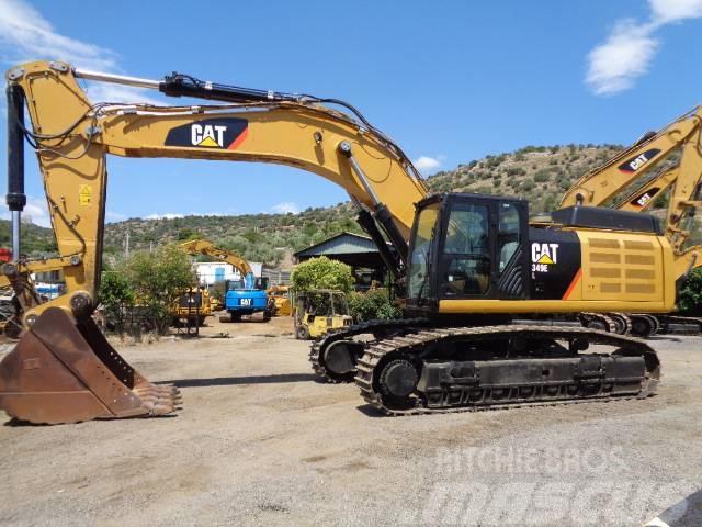 Used Caterpillar 349 E crawler excavators Year: 2012 for