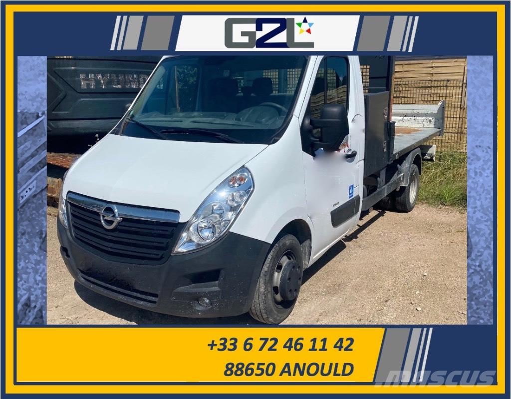 Opel MOVANO R3500 BENNE *ACCIDENTE*DAMAGED*UNFALL*