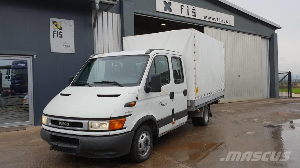 Iveco DAILY 35C12D stake body + taurpaulin