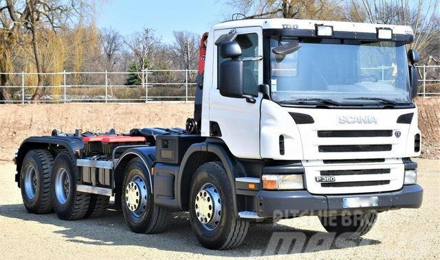 Scania AMPLIROLL P360 DE 2011 avec 575000KM  8x4