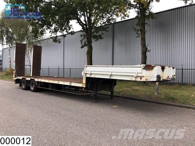 Samro Lowbed 32000 kg, Steel suspension, Ramsey RE 12000