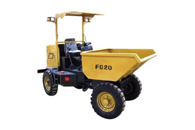 Sino Plant 2 Ton 4x4 ADT Site Dumper with Hydraulic Tip