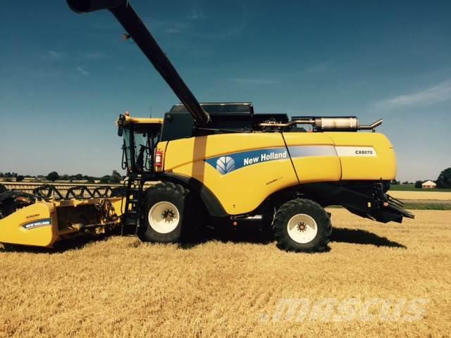 New Holland CX 8070 25fot -13