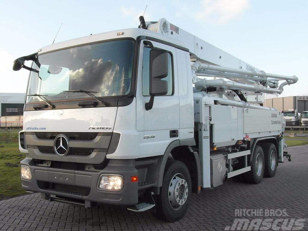 Mercedes-Benz Actros 2636 + Schwing S36X