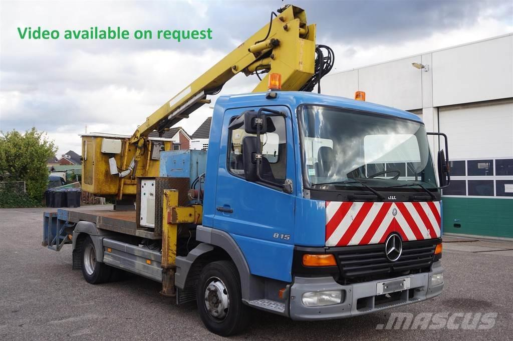 Mercedes-Benz Atego 815 / 10m Height 4X2 / Manual Gearbox / Stee