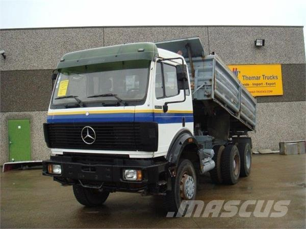 used mercedes benz 2635 6x6 dump trucks year 1991 price 31 402 for sale mascus usa. Black Bedroom Furniture Sets. Home Design Ideas
