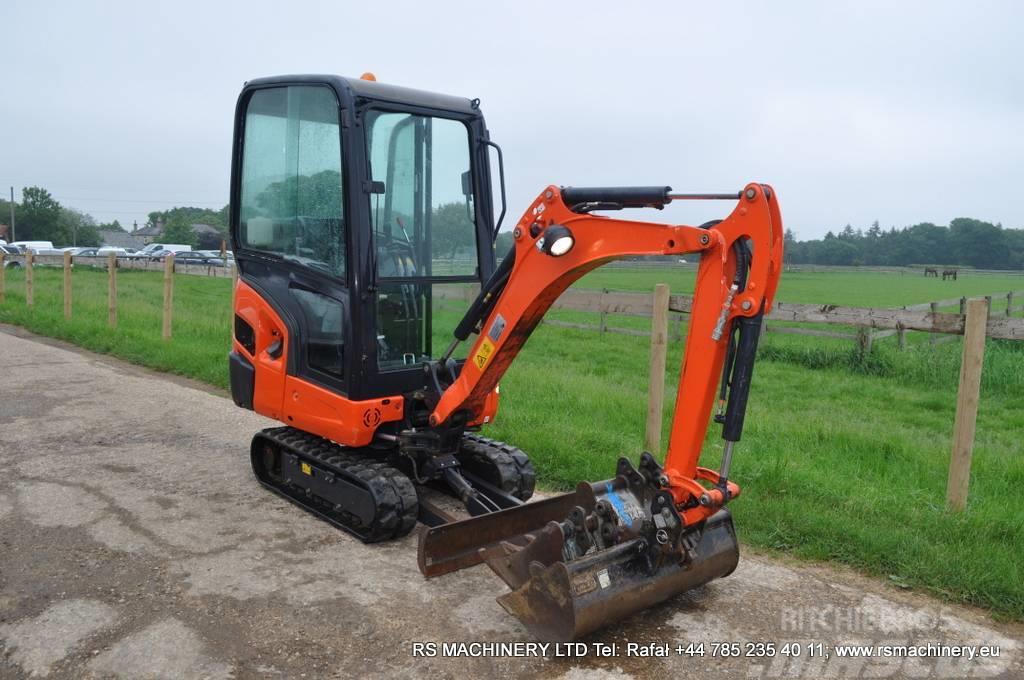 Kubota KX015-4 1.5t MINI EXCAVATOR only 512 hours