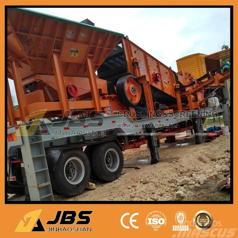 jbs mc4060 mobile crusher and screen plant 60tph