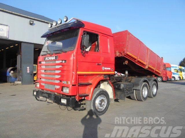 Scania 113-360 (MANUAL PUMP / STEEL SUSP)