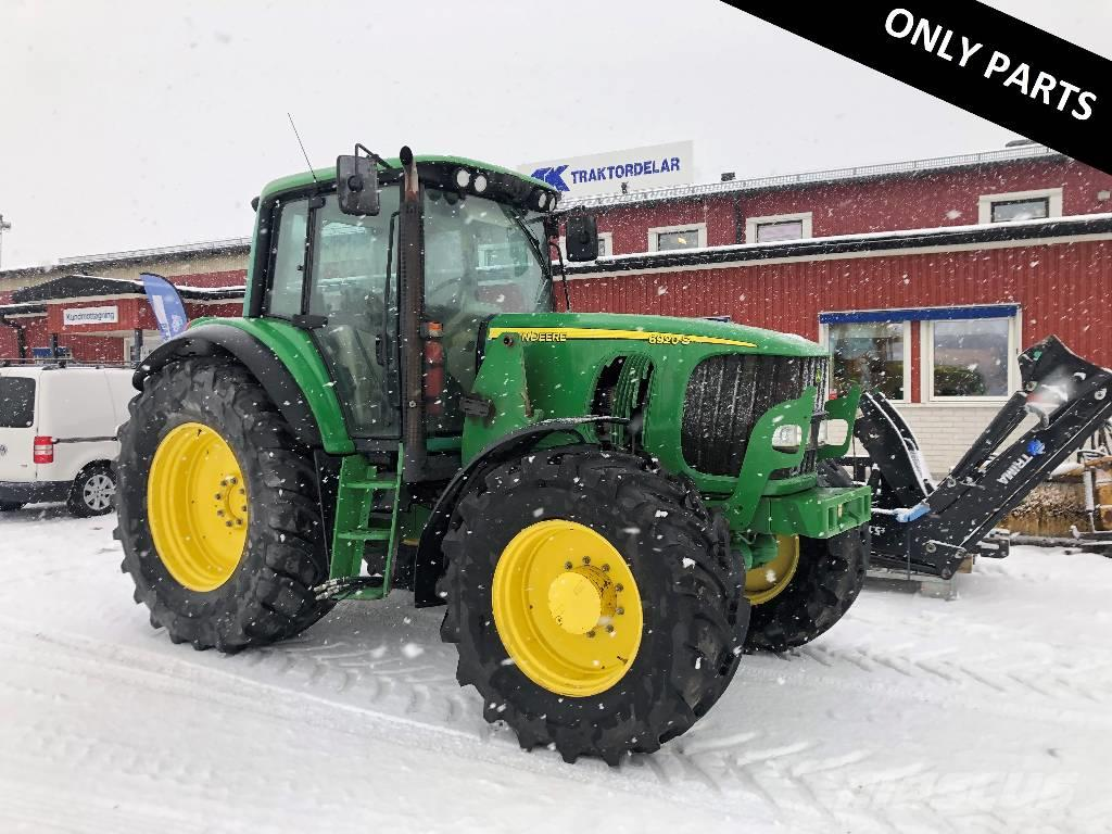 John Deere 6920 S Dismantled: only spare parts