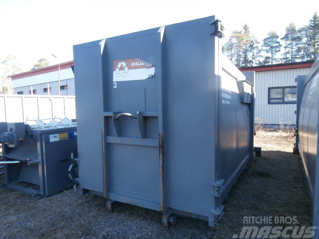 Europress jätepuristin Combio 17m3