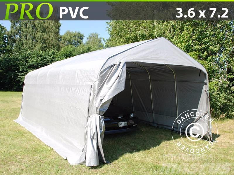 Dancover Portable Garage 3,6x7,2x2,68m PVC, Lagertelt