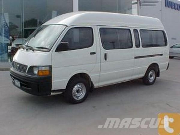 used toyota hiace commuter panel vans year 2002 price 16 555 for sale mascus usa. Black Bedroom Furniture Sets. Home Design Ideas