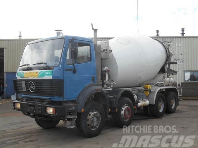 Mercedes-Benz 3234 Mixer 8x4 V6 Liebherr 10m³