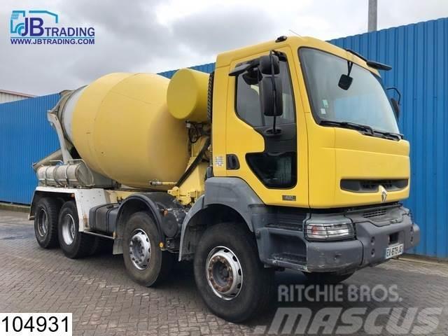 Renault Kerax 420 8x4, Stetter, Beton / Concrete mixer, Ma