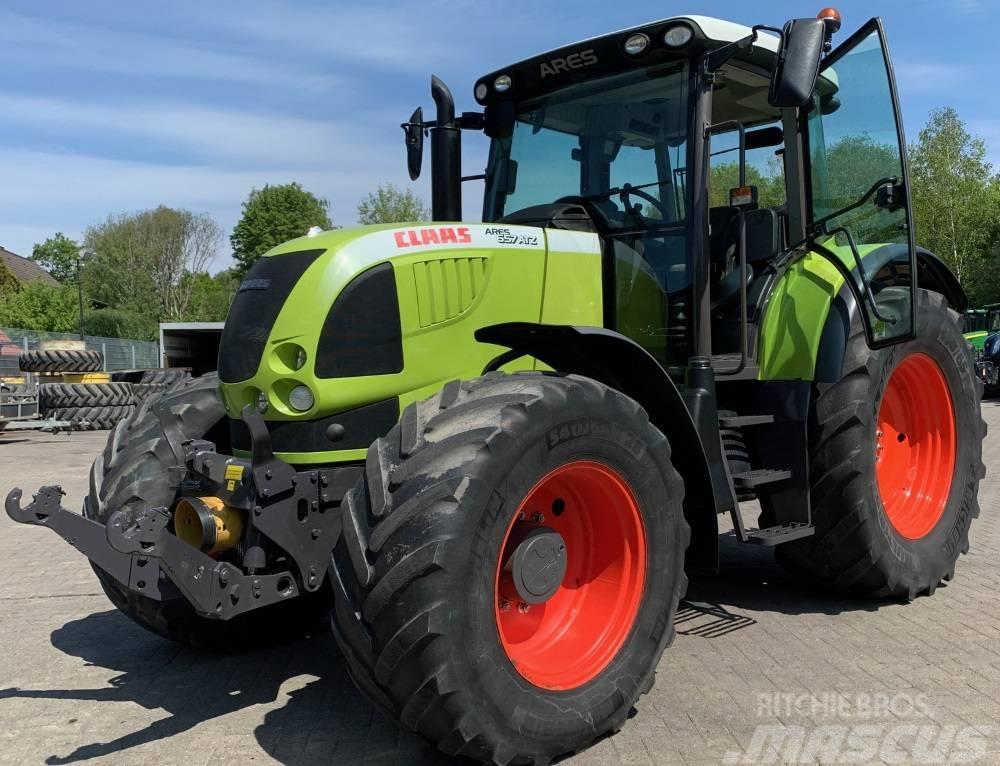 CLAAS ARES 657 ATZ Traktor **FKH & FZW**