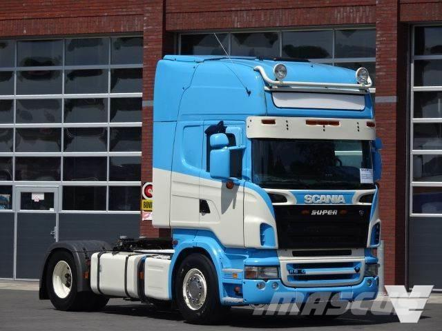 Scania R620 LA4x2MNA Opticruse, Retarder