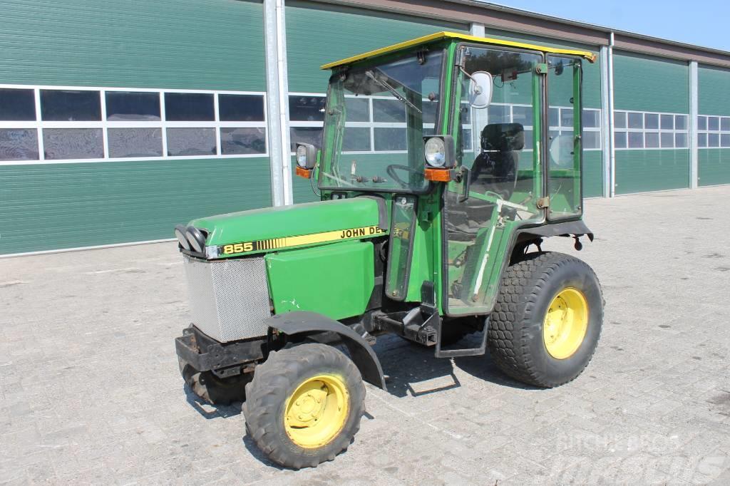 John Deere 855 D Compact Tractor Mini Tractor