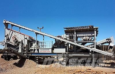 Liming 100-200tph Combination Mobile Crusher