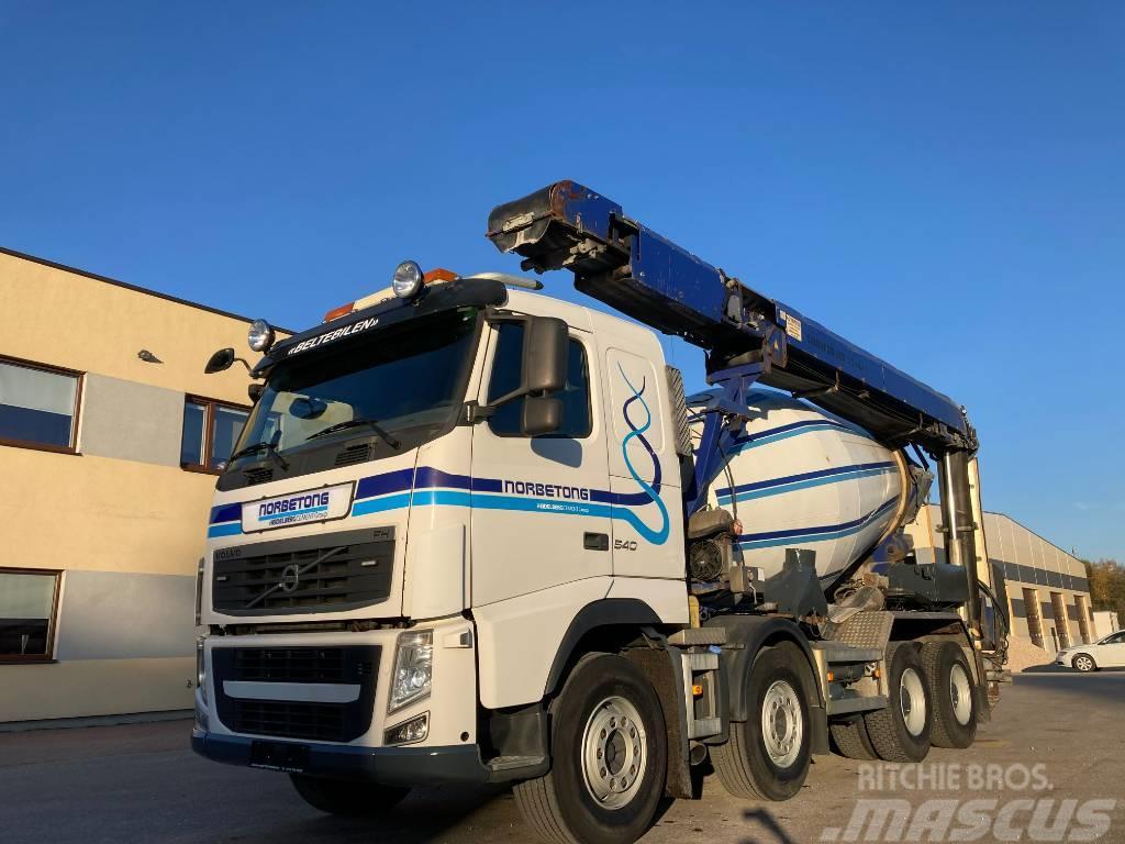 Volvo FH540 8x4+RETARDER+MIXER 7M3