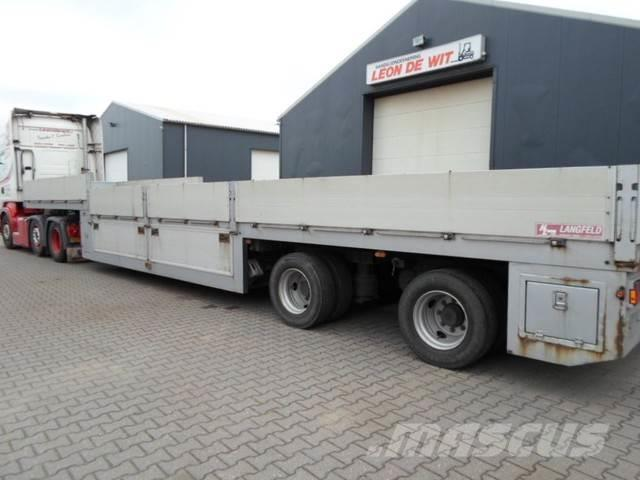 [Other] Gloria Low Loader, 2x steering axle, special!