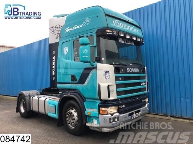 Scania 164 480 V8, Retarder, Airco, Analoge tachograaf, O