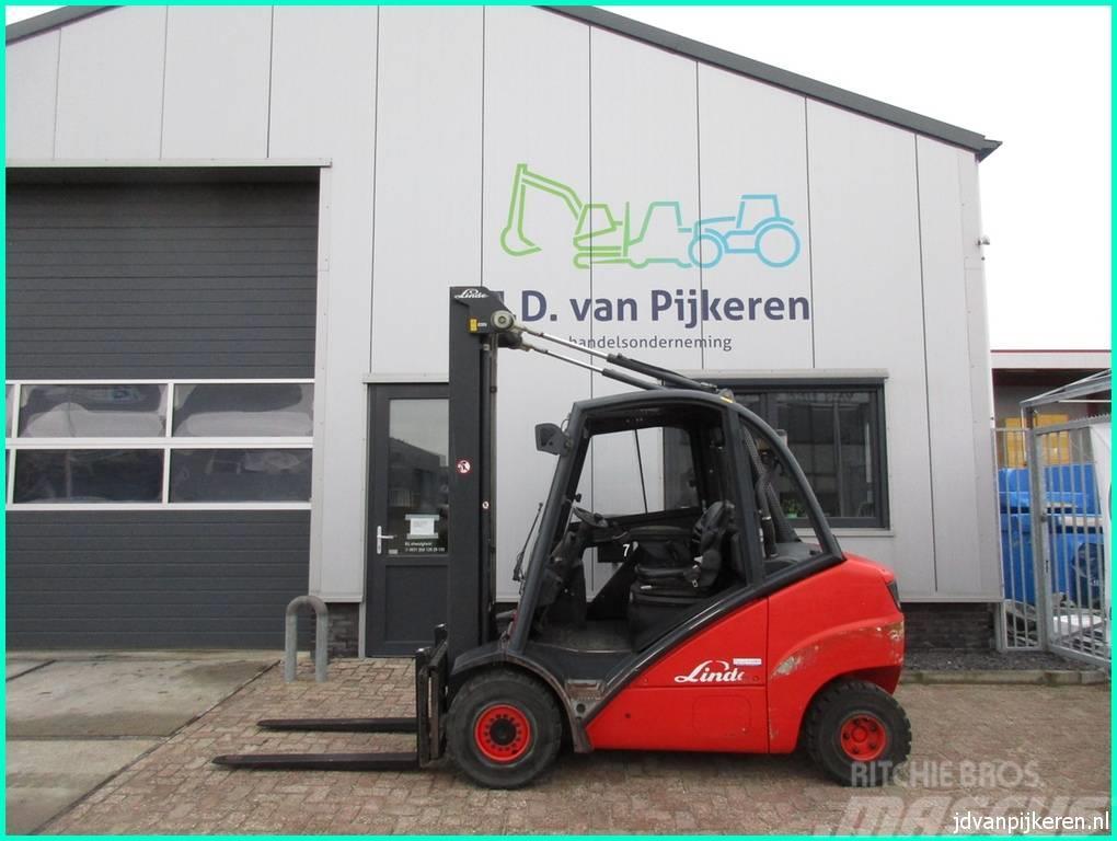 Linde H35D 3.5t diesel triplex 6.4m! sideshift cabine